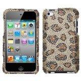 MYBAT Unique Diamante Protective Case for iPod touch 4 (Leopard - Mybat Leopard Skin