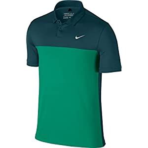 Nike Icon Color Block Polo-XX-Large-Midnight Turquoise