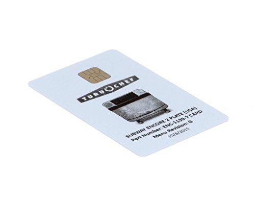 Enc Card - TURBOCHEF PARTS ENC-1139-7CARD ENCORE FLATIZZA W/CINNAMON (ENC-1139-7CARD)