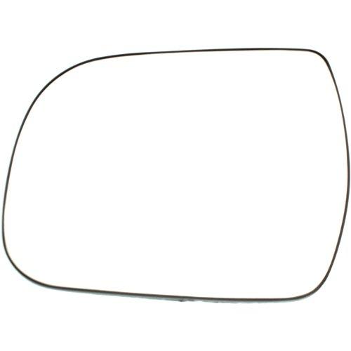Kool Vue TY199GL Mirror Glass for Toyota Sienna 11-14 Left Side w/Backing - Toyota Sienna Glass Mirror 2011