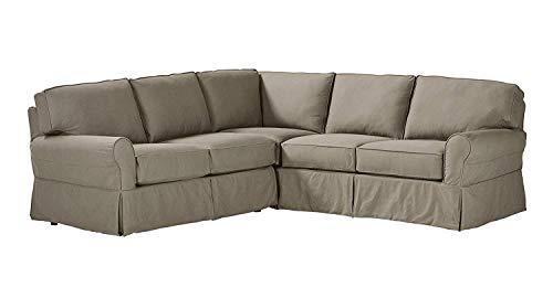 SUXIU Classic Ultra Comfortable Carrigan Modern Slipcover Sofa Living Room Sofa 88.5
