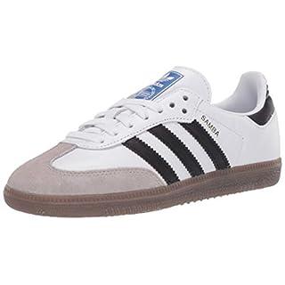 adidas Originals Men's Samba OG Sneaker White/Black/Granite 11