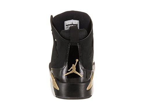 Jordan Nike Mænds Fltclb '91 Basketball Sko Sort Metallic Guld Hvid 29sJdE