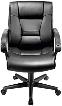Brenton Studio Ruzzi Vinyl Mid-Back Chair