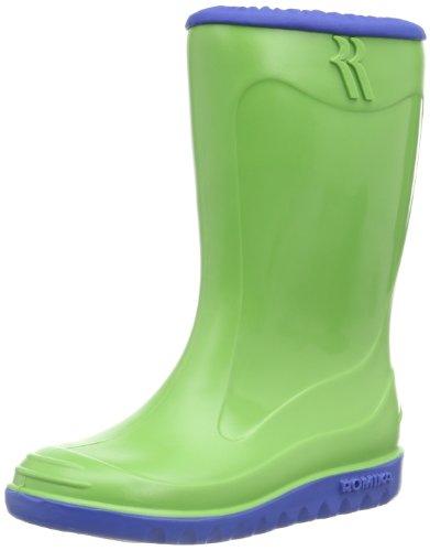 blau PVC Bunny Grün Regen Unisex Lime Romika Kinder Little 646 Schadstofffreie Stiefel Gummistiefel qPxHE0z