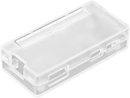 Richer-R ラズベリーパイ保護シェルケース ABSプラスチックケース 保護ケースカバーシェル ラズベリーパイゼロW / 1.3用(透明)