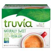 (Truvia Natural Stevia Sweetener Packets, 80-Count Carton (Net Wt. 5.64 Ounce))
