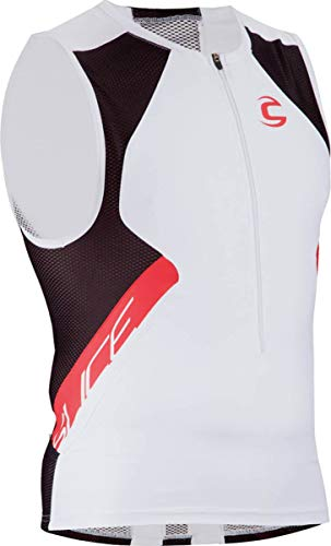 Cannondale Men's Slice Top, White, X-Large