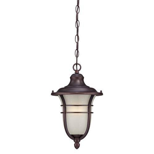 Acclaim 3666ABZ Montclair Collection 1-Light Outdoor Light Fixture Hanging Lantern, Architectural Bronze