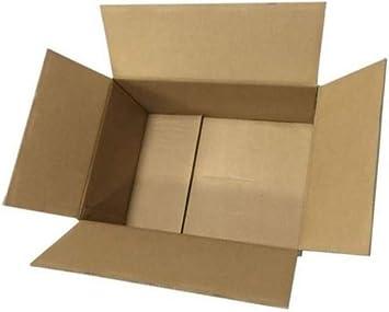 Cajas de cartón plegables para envíos, Marrón: Amazon.es: Bricolaje y herramientas