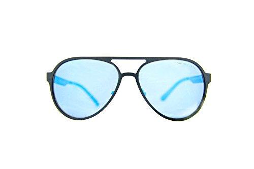 Lente De Lunettes Blu Specchiata Soleil Nero Cristian Leroy Homme OEqUUY