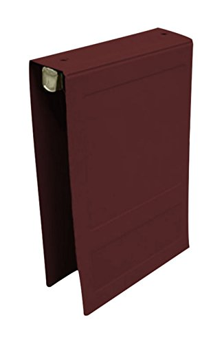 PDC Healthcare CBT11BY Poly Binder, Top Open, 5-Ring,Patient Record, 1.5'', Burgundy