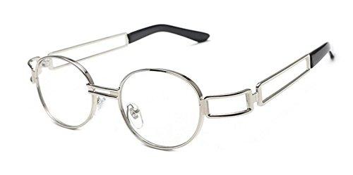 en Lennon du soleil cercle de Lumière lunettes polarisées métallique retro A style vintage rond inspirées qFzZUw8