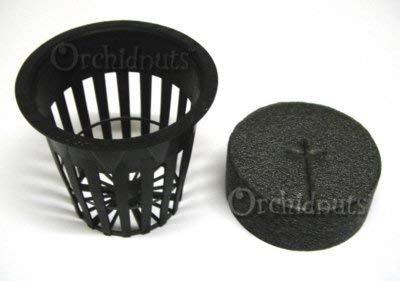 2 Inch Net Pot and EZ Clone Neoprene Collar Combo - 10 Pack ()