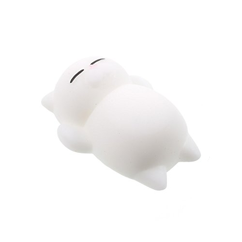 White Cat Soft Toy - 1