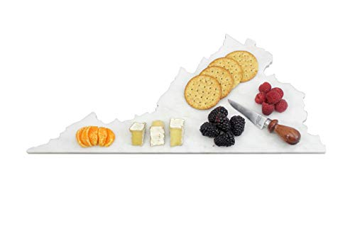 Custom Virgina Marble Cutting Board, Serving Tray, or Cheese Board- Personalized with Laser -