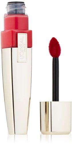 L'Oreal Paris Colour Caresse Wet Shine Lip Stain, Endless Red, 0.21 Ounces