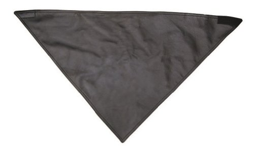 Unisex Adult AL3421 Leather Bandana One Size Black