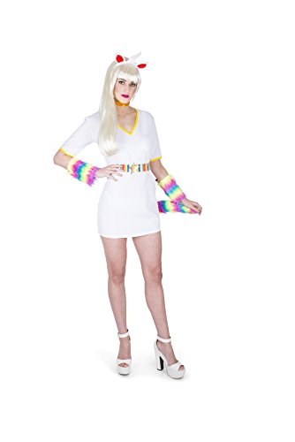 Washing Machine Costume (Karnival Women's Mythical Unicorn Costume Set (L))