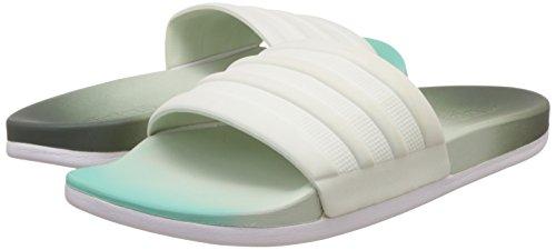 adidas adilette CF+ fade W - Chanclas para Mujer, Gris - (HIEUTI/VERLIN/VERSEN) 42