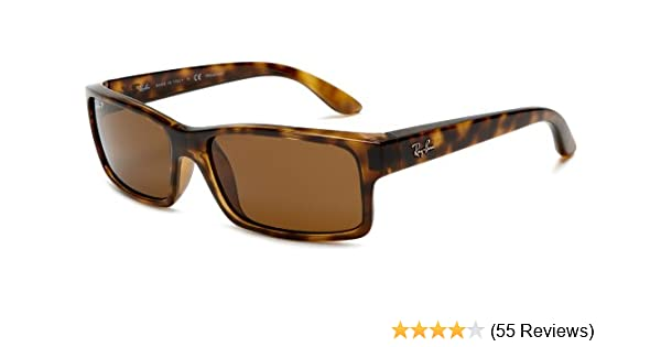 9925e29442c Amazon.com  Ray-Ban RB4151 - LIGHT HAVANA Frame CRYSTAL BROWN POLARIZED  Lenses 59mm Polarized  Ray-Ban  Clothing