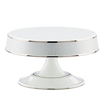 - Pearl Beads Cake Plate by Lenox