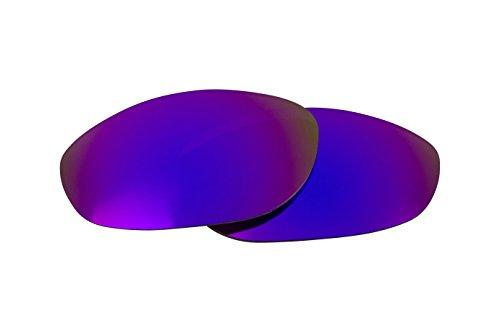 New SEEK Replacement Lenses Oakley MONSTER DOG - Polarized Purple Mirror (Dog Monster Polarized)