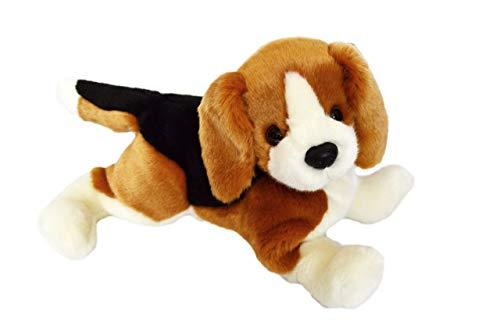 Kingdom Kuddles Brady The Beagle Puppy- Stuffed Plush Animal -