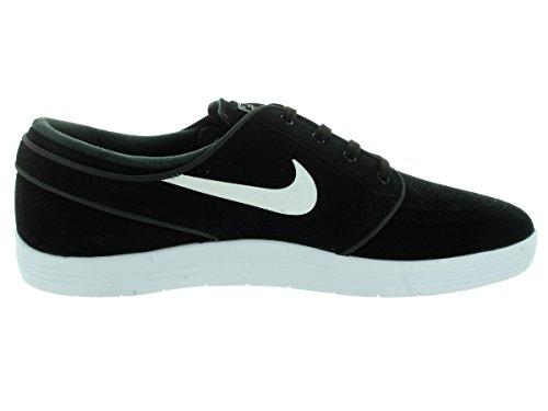 Nike Lunar Stefan Janoski, Zapatillas de Skateboarding para Hombre Varios colores (Negro / Blanco (Black / White))