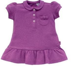 Vestido Piquet Camiseta 9 meses violeta