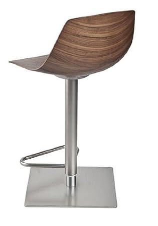 lapalma Miunn Barhocker Nussbaum canaletto Hoehenverstellbar design ...