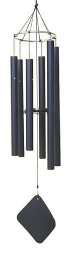Music of the Spheres - Pentatonic Mezzo, Handcrafted, Precision Tuned, Weather-resistant, Wind Chime, 38""