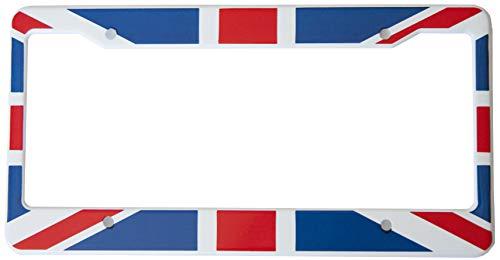 union jack license plate frame - 1