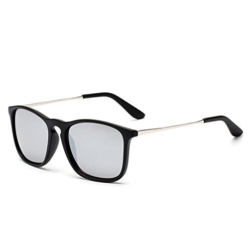 Fashion Square Sunglasses Men and European Trends Sunglasses Sunglasses OEM1509,C51 wine red ()