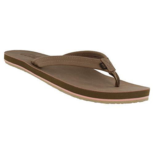Cobian Women's, Pacifica Flip Flops TAN 7 M