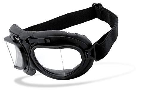 Helly® – No.1 Bikereyes® | UV400 Schutzfilter, HLT® Kunststoff-Sicherheitsglas nach DIN EN 166 | Motorradbrille…