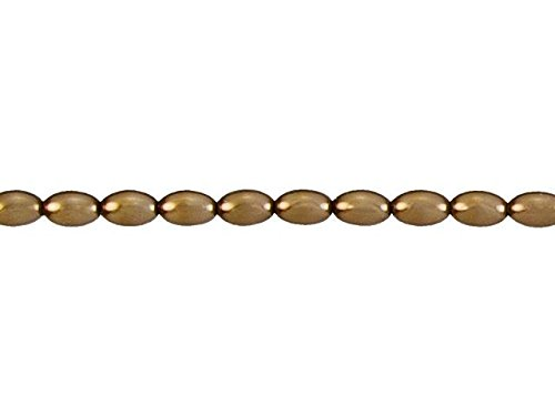 Antique Gold Rice Pearl Bead Strand ()