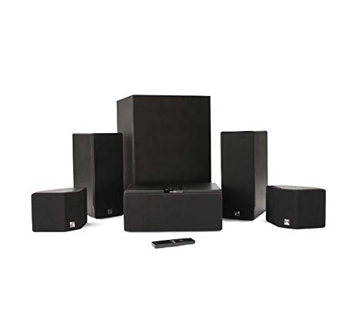 Enclave Audio CineHome HD 5.1 Wireless Audio Home Theater System (Hdmi Wireless Theater Home System)