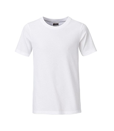 Classic Fit blanco Organic Kid's Casual camiseta Boy 2store24 pST4R
