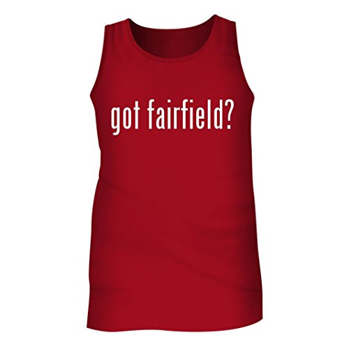 Tracy Gifts Got Fairfield? - Men's Adult Tank Top, Red, X-Large ()
