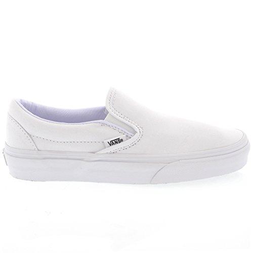 Vans Unisex Classic Slip-On Navy VN000EYENVY Skate Shoe True White best cheap price for sale sale online 2015 new sale online hot sale cheap price cheap cost VBffC2W6kj
