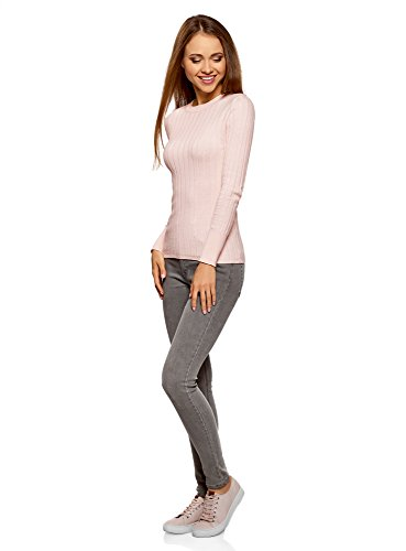 oodji Pull Maille C tel en Collection Femme 08zrq60