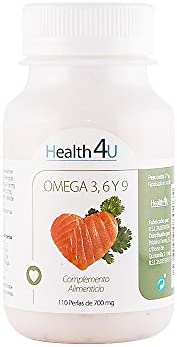 H4U Two Pack Omega 3,6,9 110 perlas de 700 mg-: Amazon.es: Salud y cuidado personal
