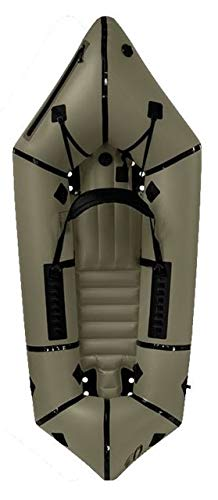 Kokopelli Nirvana Self-Bailing Packraft with Tizip-Green for sale  Delivered anywhere in USA