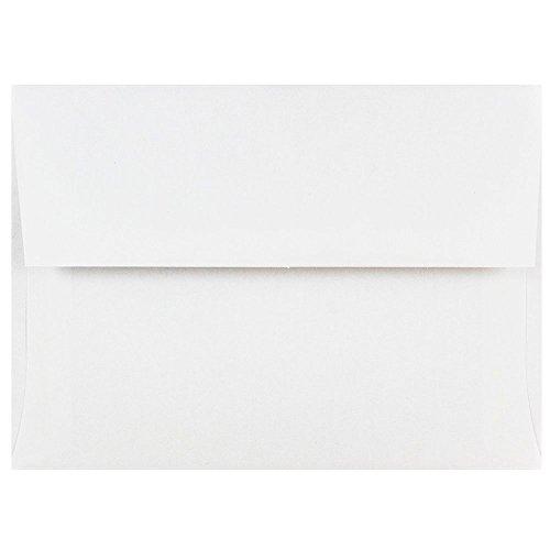 A6 Photo Paper - JAM PAPER A6 Invitation Envelopes - 4 3/4 x 6 1/2 - White - 50/Pack
