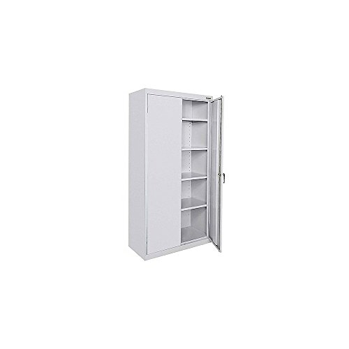 - Atlantic Metal Storage Cabinet - 36X18x78