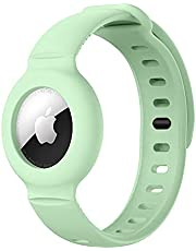 Children Anti-Lost Silicone Band Bracelet Protective Case for Apple AirTag, GPS Children Anti-Lost, Adjustable Tracking Locator for Children