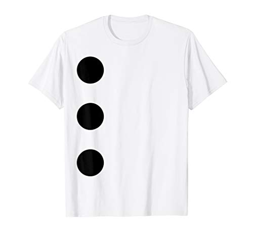3 Hole Punch Jim T-Shirt Easy Funny Office Halloween Costume T-Shirt
