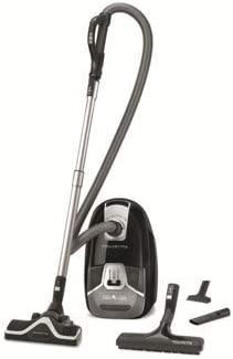 Aspirador con bolsa - Rowenta Silence Force Compact RO6365, 3.5 L, Motor de 550 W, Clase A+, Negro (Reacondicionado Certificado)