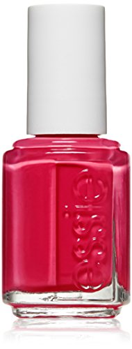 essie nail polish, haute in the heat, raspberry red nail polish, 0.46 fl. oz.